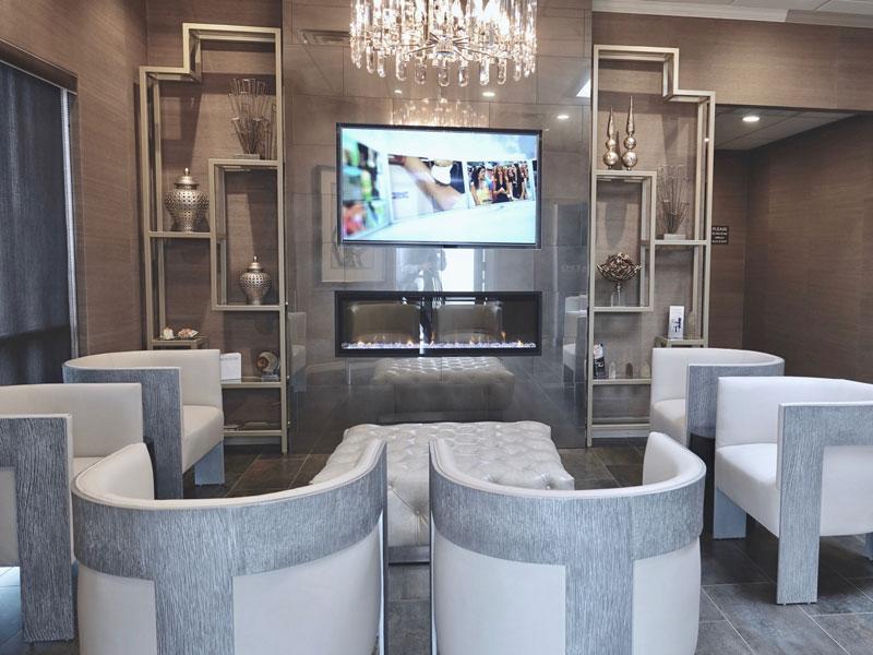 amarillo-laser-and-vein-clinic-lobby-flat-screen-tv