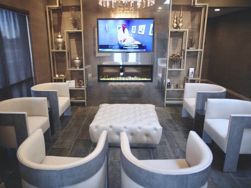 amarillo-laser-and-vein-clinic-lobby-flat-screen-tv2