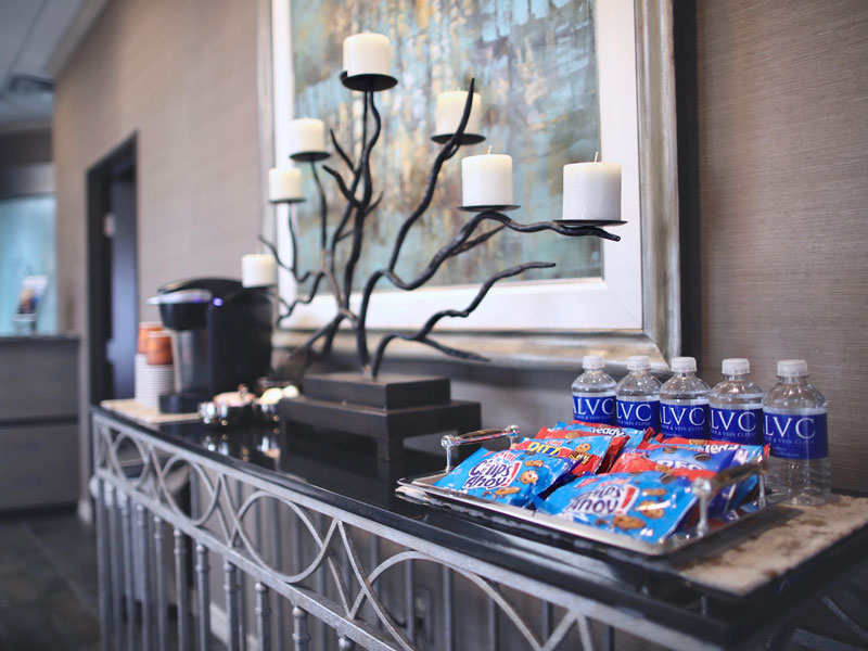 amarillo-laser-and-vein-clinic-lobby-snack-station
